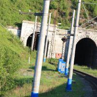 Нижний прибайкальский тоннель 5298км Транссиба, Култук
