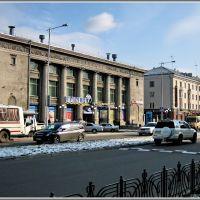 Marx St.  Старый универмаг, Ангарск