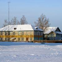 Деревянная архитектура сибирской глубинки. - Wooden Architecture of the Siberian countryside., Атагай