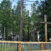 Литовские кресты на старом кладбище, Атагай