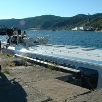 Baikal05 - Port Baikal, quay for wing boats, Байкал
