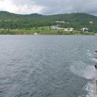 Паромная переправа  Рогатка - Порт Байкал, Байкал