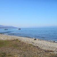 Baikal + Chamar-Daban + Boats  / Байкал + Хамар-Дабан + лодки, Байкальск