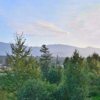 Вид на горы из г. Байкальск, Байкальск