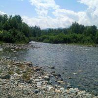 р. Солзан. Вид с устья., Байкальск