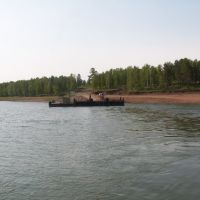Balagansk docks, Балаганск