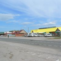 Roadhouse and petrol station (1), Баяндай