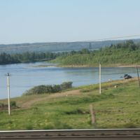 р. Бирюса 4502 км Транссиба, Бирюсинск