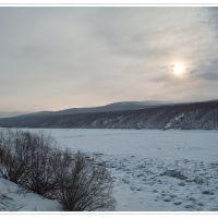 Icebound Vitims river, Бодайбо