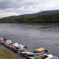 Лодочная станция (2008, сентябрь) / Boat station (2008, September), Бодайбо