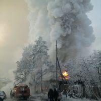 Сгорел Магазин Урал, Бодайбо