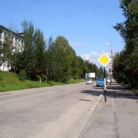 Улица Урицкого (2011, август) / Street Uritskogo (2011, August), Бодайбо