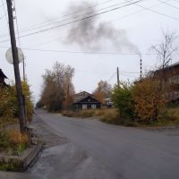 улица Иркутская (сентябрь, 2011) / Street Irkutskaya (September 2011), Бодайбо