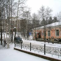 улица Мира (2011, ноябрь) / street Peace (2011, November), Бодайбо