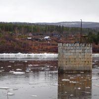 Ледоход на реке Витим (май, 2012) / Ice drift on the river Vitim (May 2012), Бодайбо