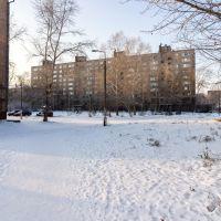 """Мира 22 (""""Юбилейный"""" со двора), Братск"""