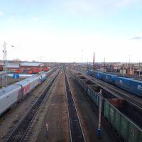 Станция Вихоревка, Вид в сторону Братска, Вихоревка