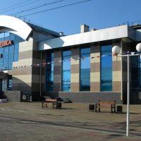 Новый вокзал станции Вихоревка, Вихоревка