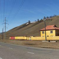 Новый дом на окраине села Еланцы, Иркутская область., Еланцы