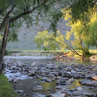 Anga river near Elantsy, Еланцы