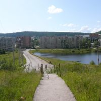 город Железногорск-Илимский дамба, Железногорск-Илимский