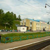 Вокзал Коршуниха-Ангарская. Июль 2010, Железногорск-Илимский
