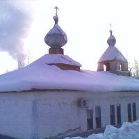 Казанский храм в январе 2012, Железногорск-Илимский