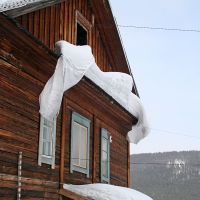 Снег в Жигалово (Show in Zhigalovo), Жигалово