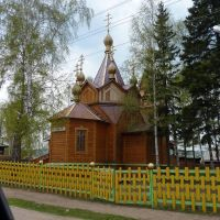 Church in Zhigalovo, Жигалово