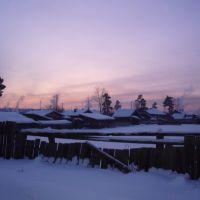 Silvesterabend in Karymsk, 2008, Зима