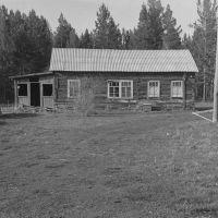 Завидненская начальная школа 1984 год., Зима