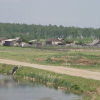 Деревня Шапшалтуй., Зима