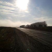 М-53 в тумане, Зима