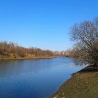 Окинская протока, Зима