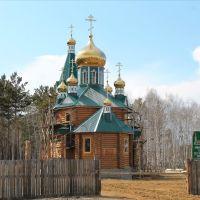 Храм всех сибирских святых, Зима