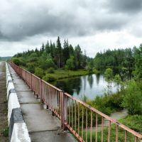 Мост через Б.Иреть, Зима
