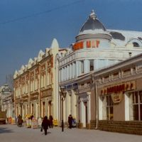 Uritskogo street, Иркутск