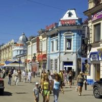 пешеходная улица, Иркутск