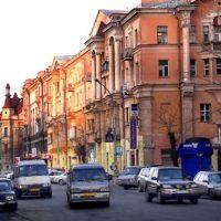Street Karla Marxa, Иркутск