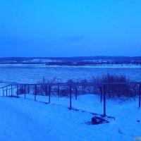 Киренск спуск на сидоровски паром, Киренск