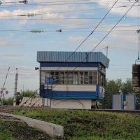 Железнодорожный переезд в Куйтуне., Куйтун