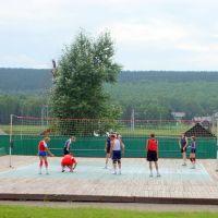 Стадион. Тренировка спортсменов. (Stadium.Training athletes), Кутулик