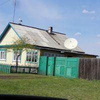 Аист на крыше., Кутулик