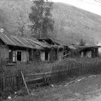 80-ти летний дом на набережной реки Витим, 2007 год., Мама