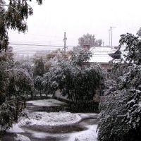 Сентябрьский снег., Нижнеудинск