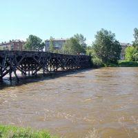 Нижнеудинск. Старый мост через Застрянку. - Old Bridge., Нижнеудинск