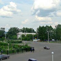 Нижнеудинск. Привокзальная площадь. - Station square., Нижнеудинск