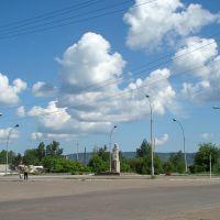 Victory Square. - Площадь Победы., Нижнеудинск