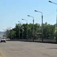 Нижнеудинск. Мост через Уду, Нижнеудинск