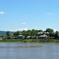 Уда. Вид с моста., Нижнеудинск